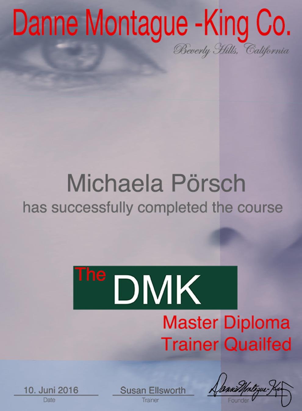 DMK Hautüberarbeitung Master Diploma